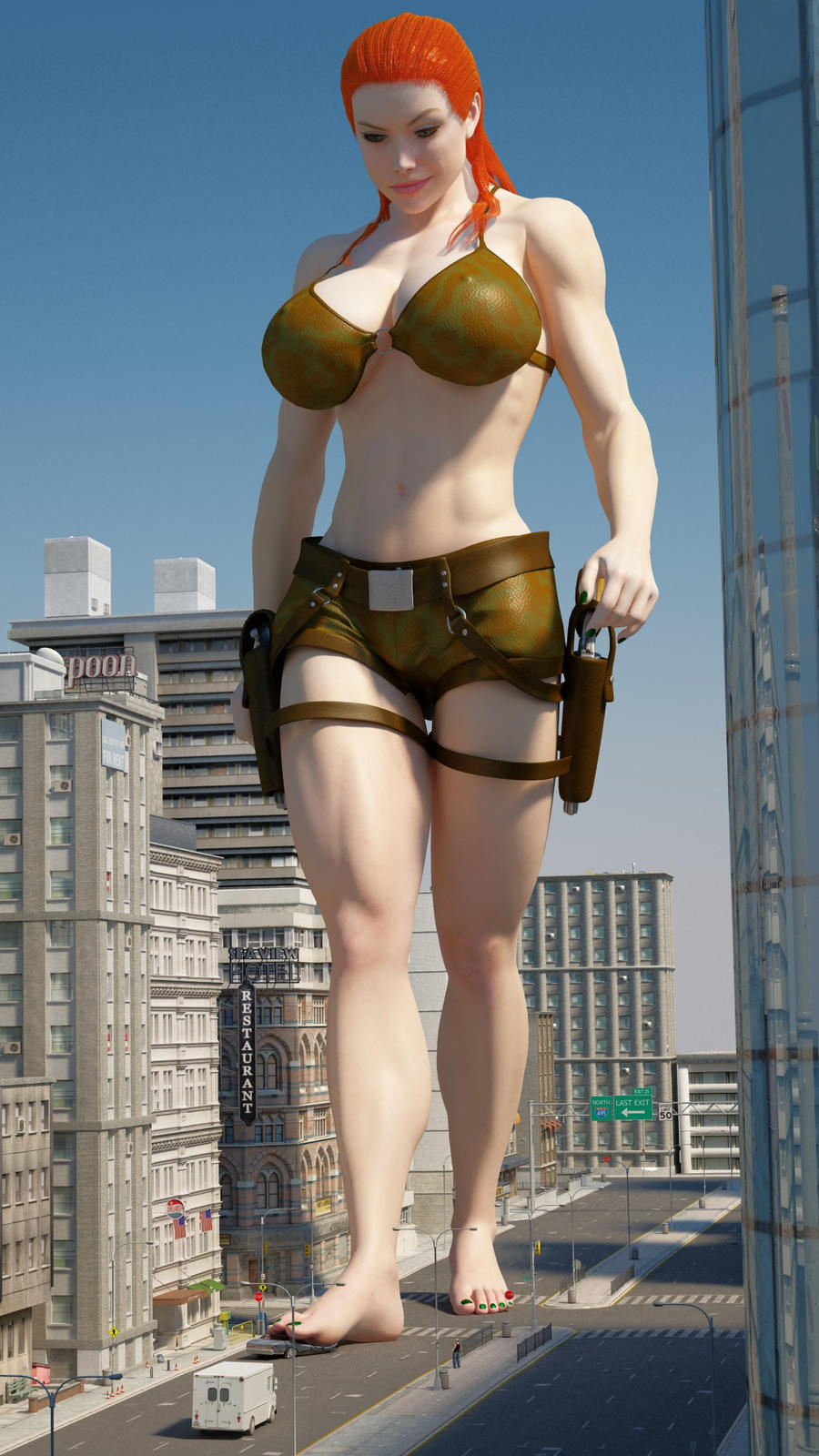 Hot giantess tall sexy picture