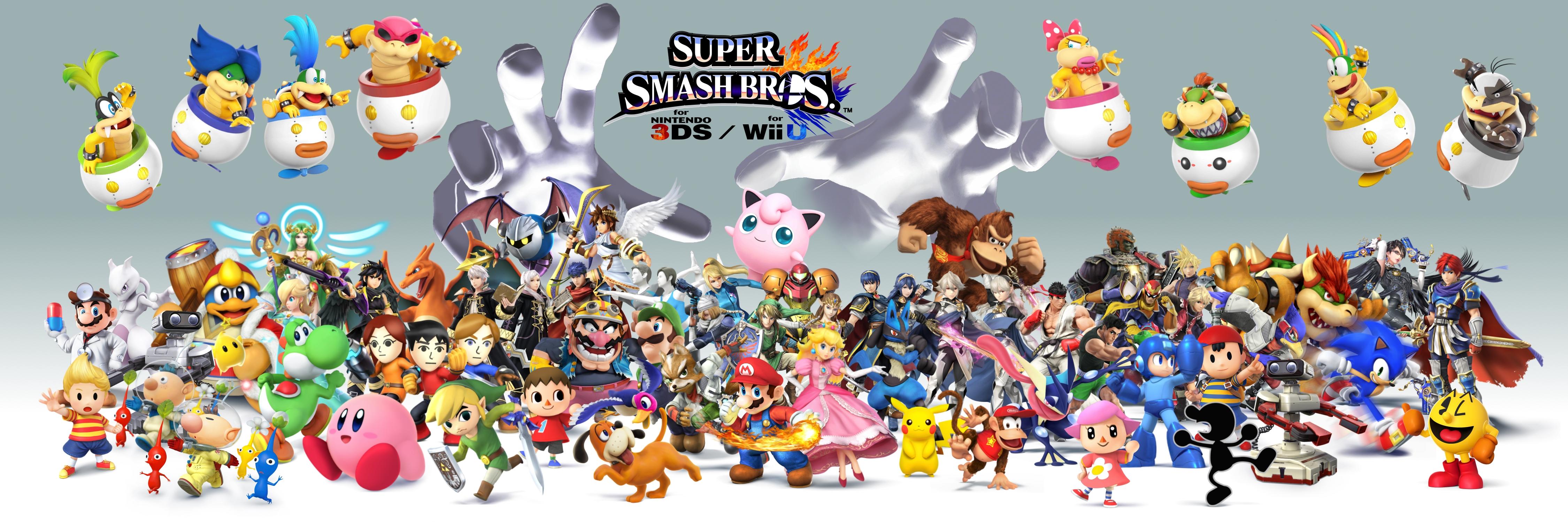 Smash Bros Wii U : Smash bros wii u ds by trikeboy on deviantart