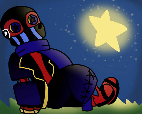 Error Sans Looking At Some Stars