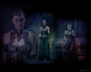 Wraith Queen wallpaper 2 by aunexisteamor