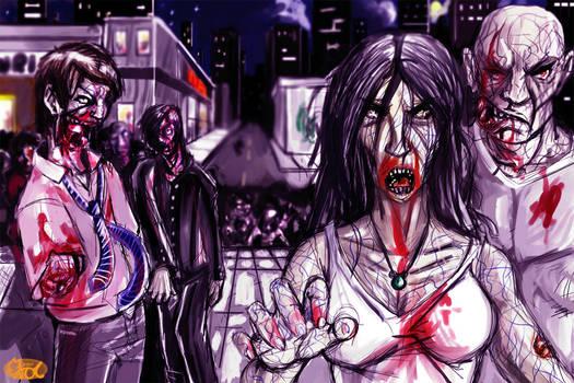 Zombies  Happy halloween