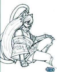 Yurei-maru  Ninja kitty boy