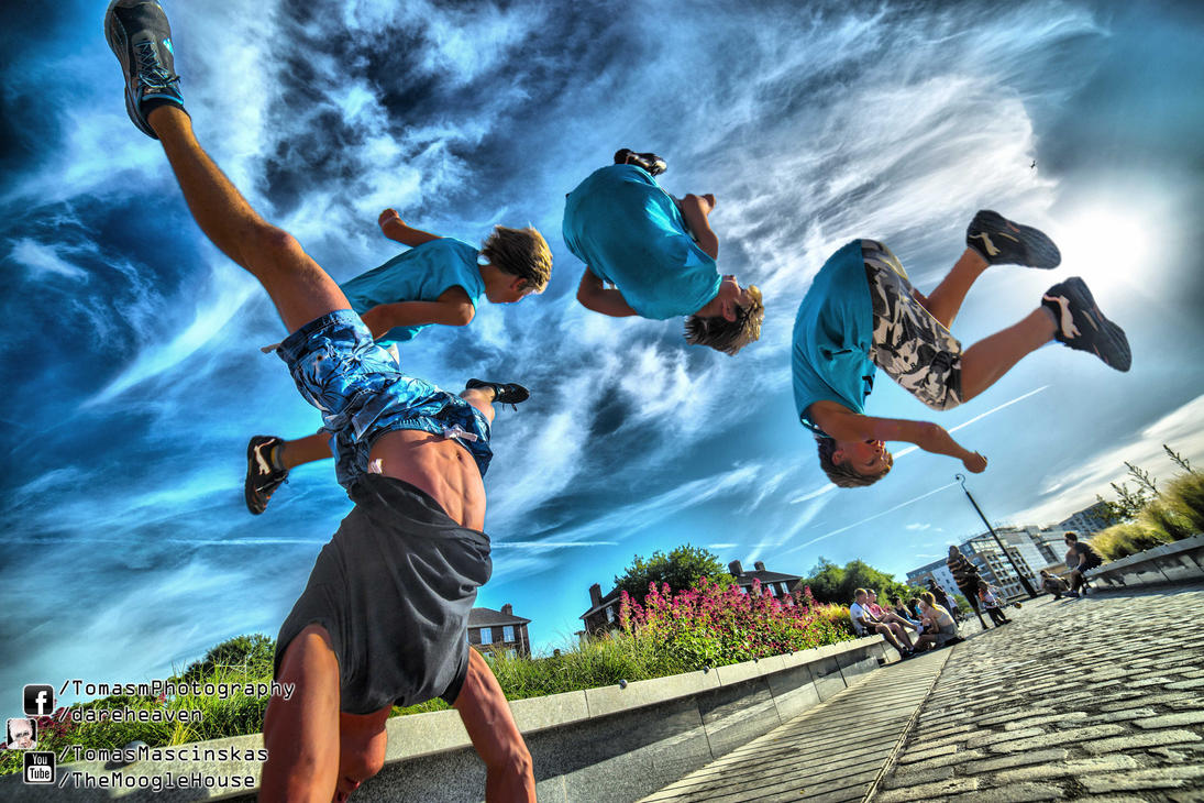 Tricking at Cutty Sark 2013.06.30 by TMProjection