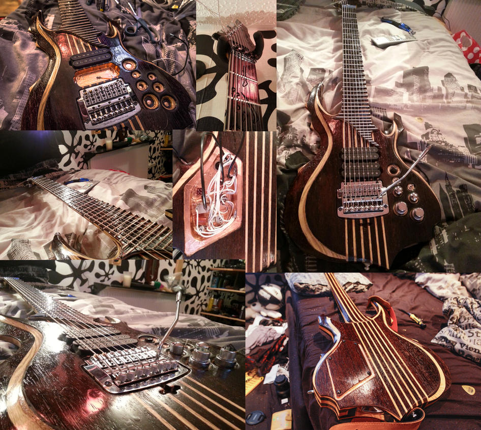 Tomas Mascinskas Signature 8 String Guitar by atmp
