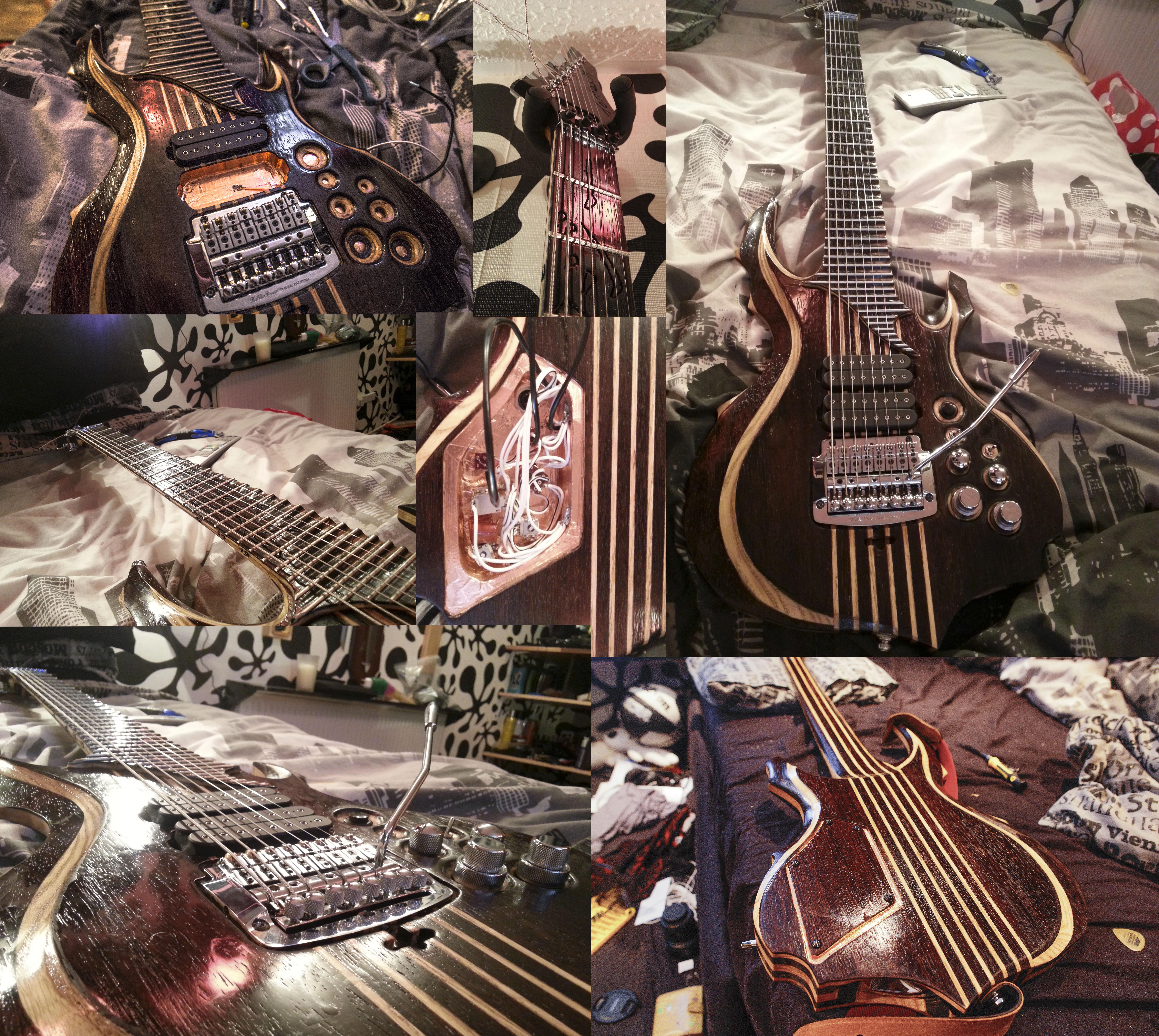 Tomas Mascinskas Signature 8 String Guitar by TMProjection