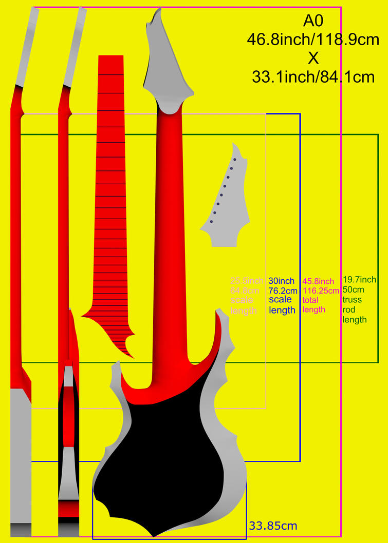 Tomas Mascinskas 8 String Signature Blueprints by TomasMascinskas