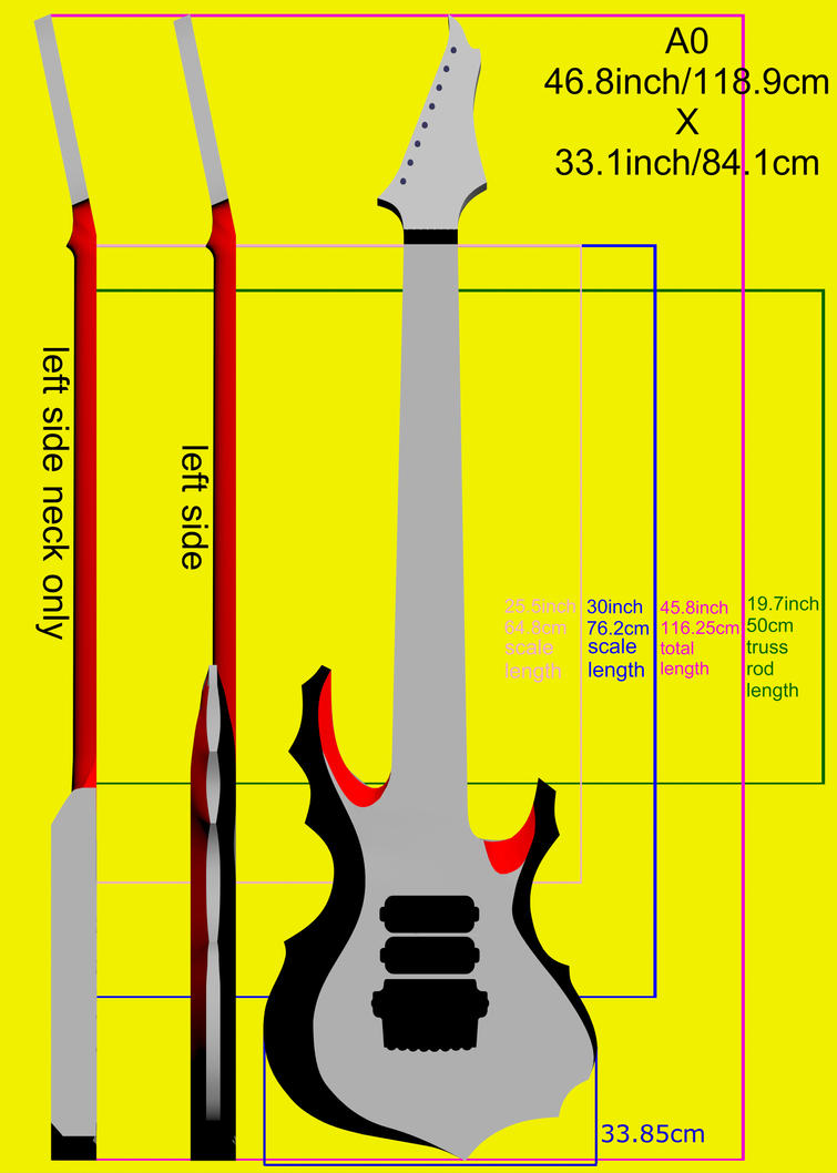 Tomas Mascinskas 8 String Signature Blueprints by TMProjection