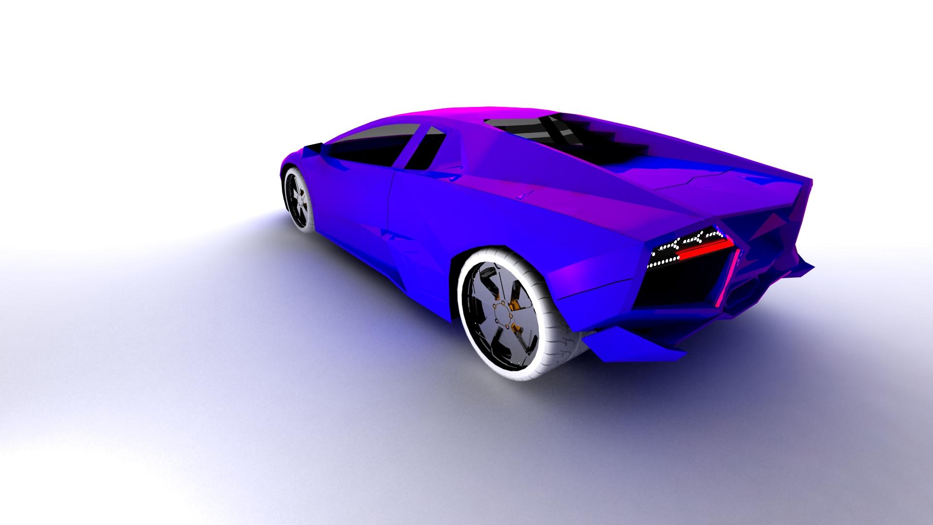 2011.03.08 Lamborghini 3DS MAX + VRAY by TomasMascinskas