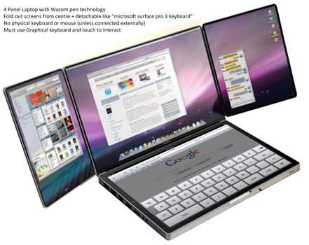 4 Panel Laptop Concept?