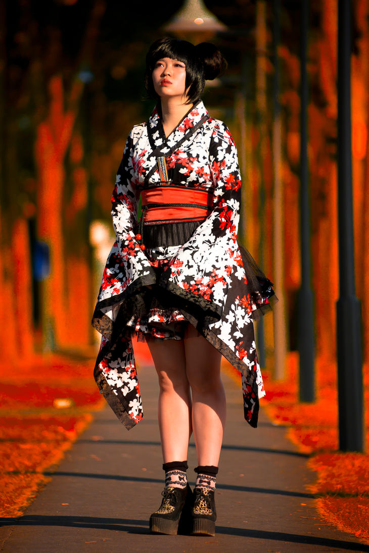 Misha Tsai in Paris Japanese Fashion by TMProjection