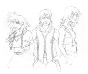 Kingdom Hearts Genderswap by yaoi101