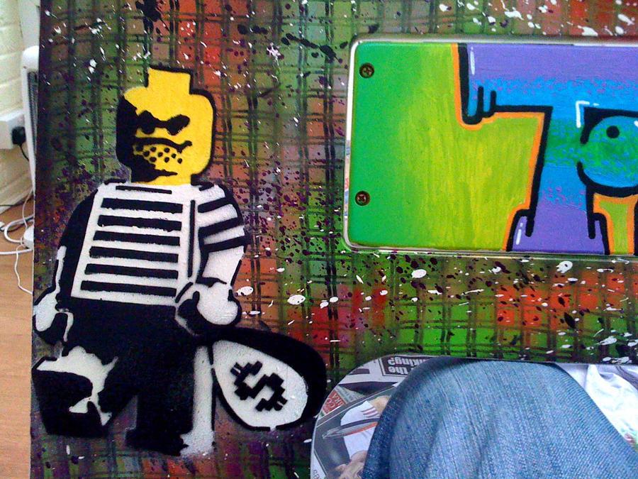 Lego table project comish 7 by gaz de la raz on for Art de la table
