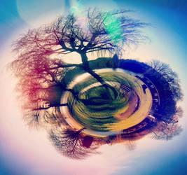 Mini earth practice  by Gaz-de-la-Raz