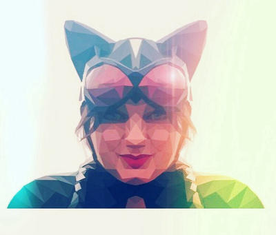Cat woman  by Gaz-de-la-Raz