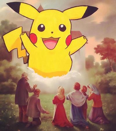 Pikachu!! by Gaz-de-la-Raz