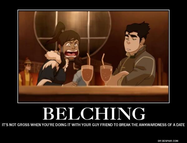 Belching is a Symptom of Gas