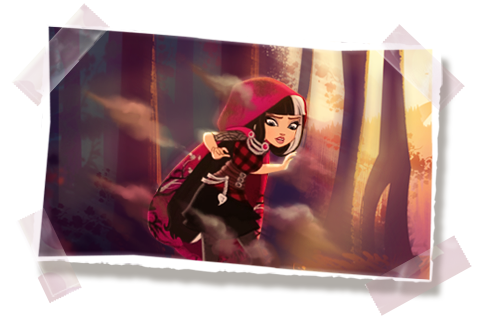 Cerise Hood Panel 1 by puccagirlfan121