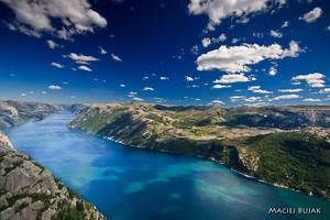 Lysefjord by earth-trekker