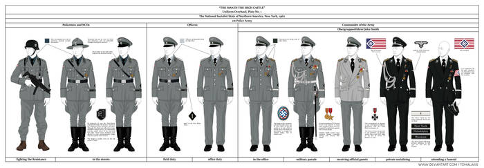 The Man in the High Castle - Uniform Overhaul by tomalakis