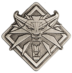 The Witcher 3 Wild Hunt: Wolf Medallion