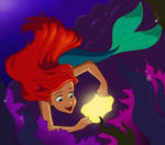 Ariel and the Cave