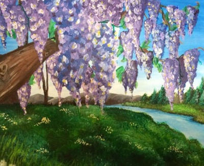 Wisteria by SmashArtistry