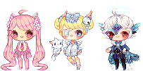 pixel commissions! by okyi
