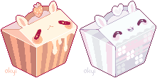 cakeboxes (purchased) by okyi
