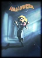 Halloweeeen by Lionheartcartoon