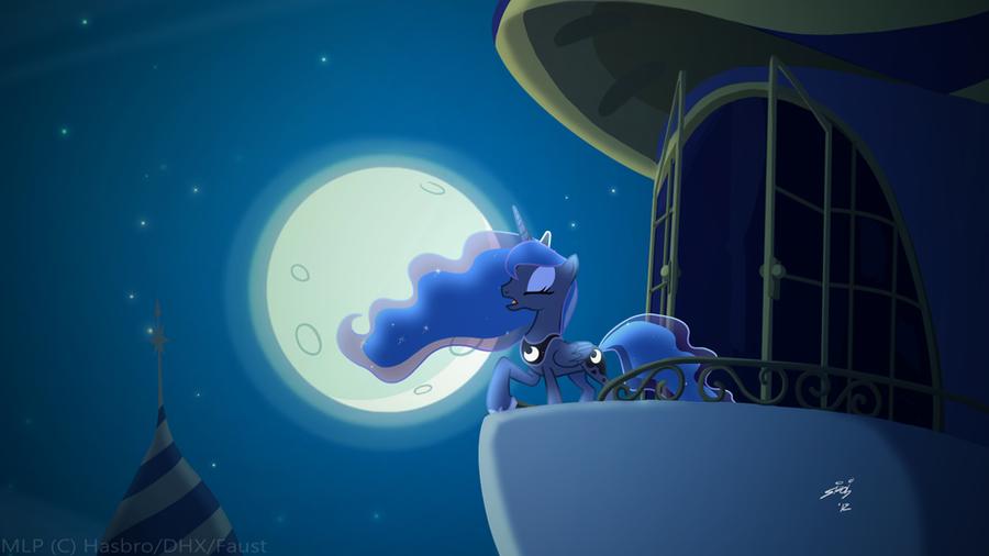 Luna's Tower by Lionheartcartoon