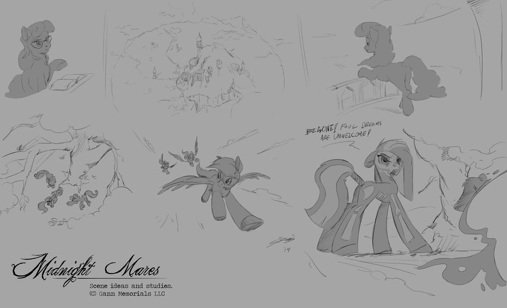 Equine Inspirations by Lionheartcartoon