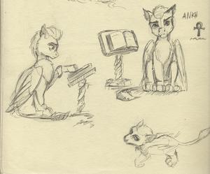Ankh Sketches
