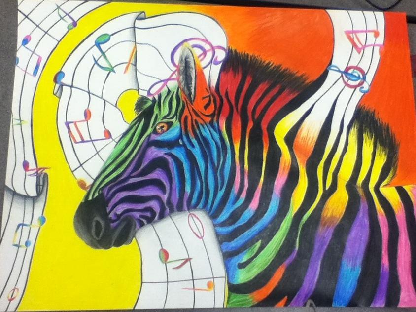 transformation Zebra by seshirawolf