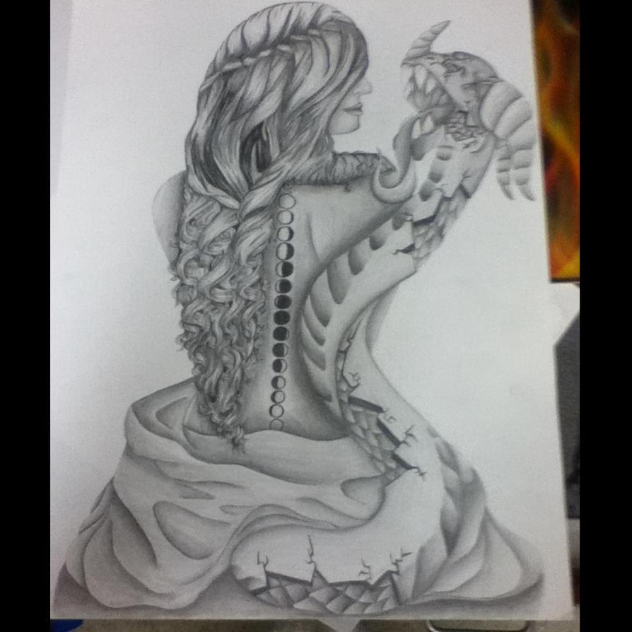 chimera woman by seshirawolf