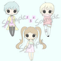 Adoptables Batch #1  - OPEN - Points - [2/3]