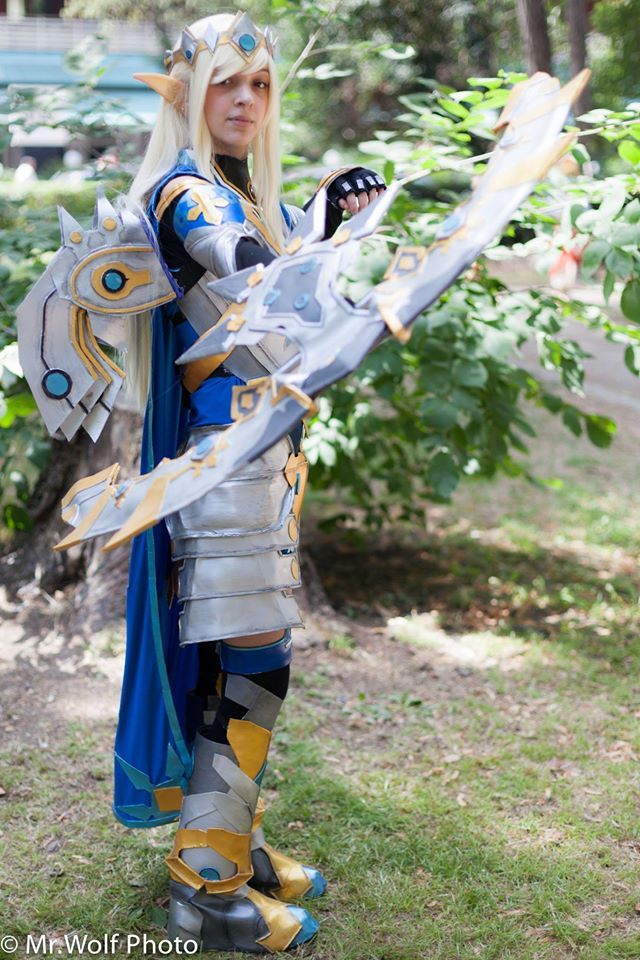 Rena Imperial Guard - Elsword by NekoBreeBree