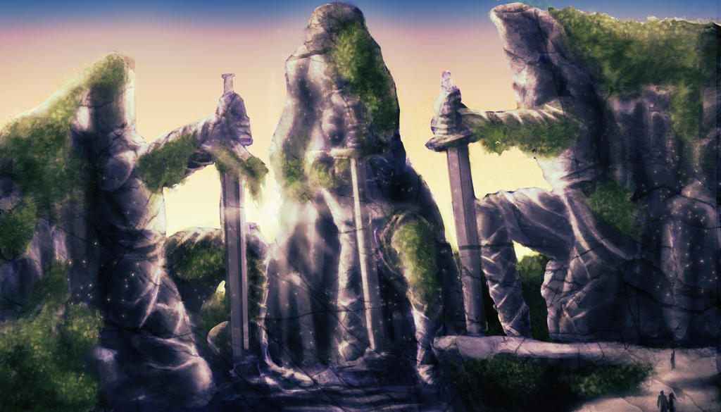 Unearthly Terrain by cupcakeanimefighter