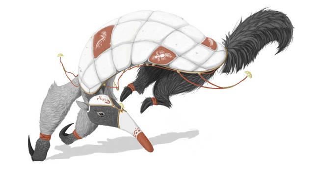 Anteater battlemage