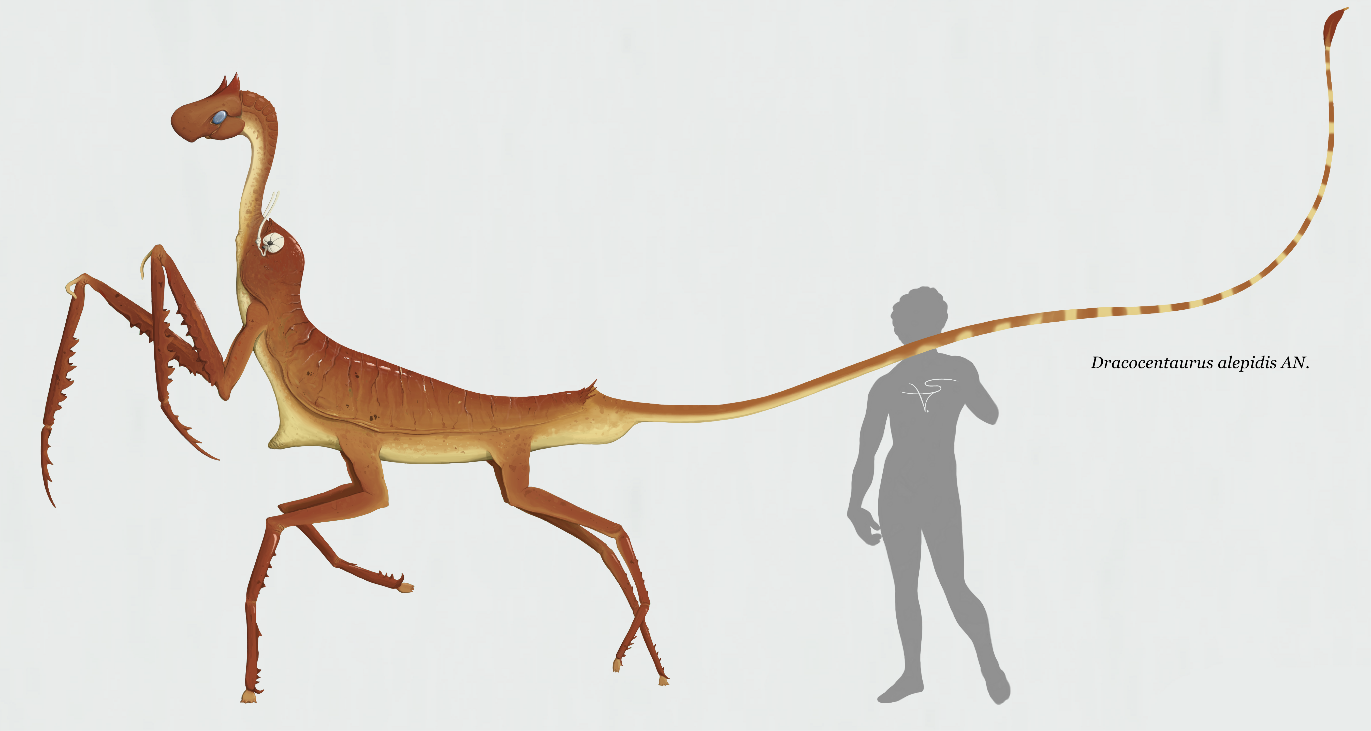 Dracocentaurus alepidis by Sanrou