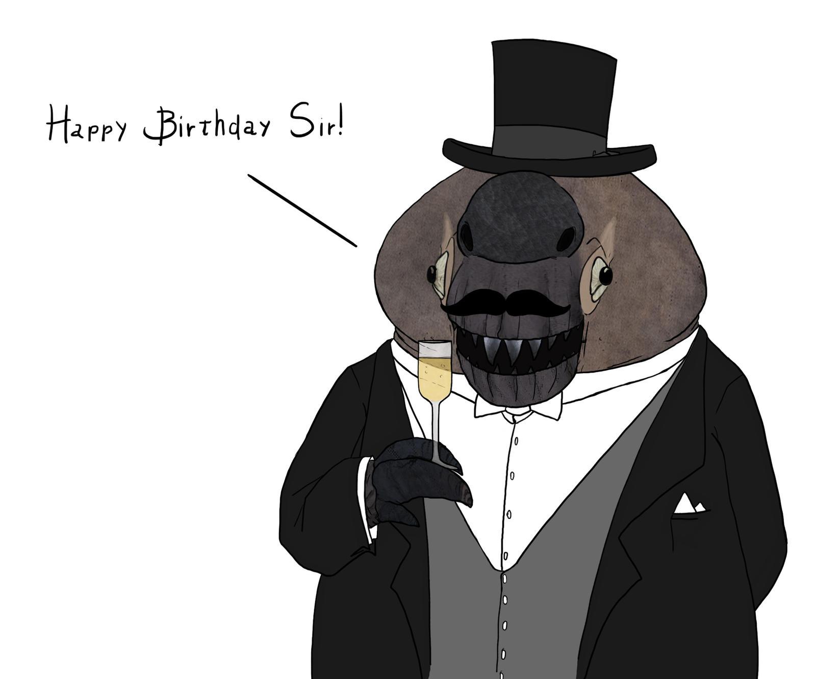 Happy birthday darthmobius! by Sanrou