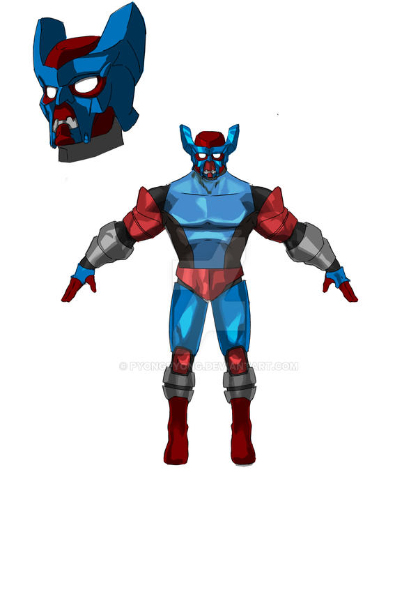MARVEL: CONTEST OF CHAMPION ANATOMY STYLE 4 by pyongpyong