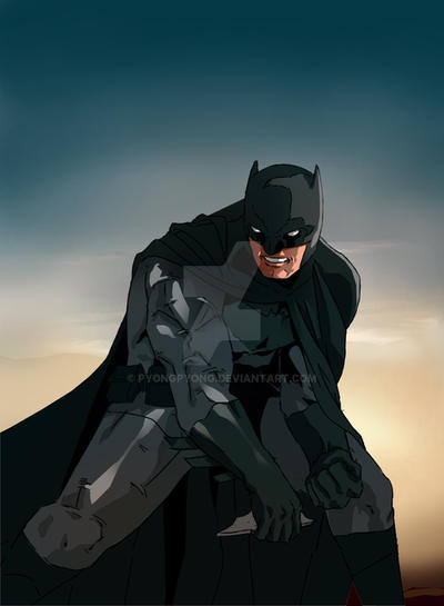 Batman by pyongpyong