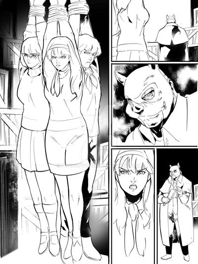 scooby doo wip page by pyongpyong