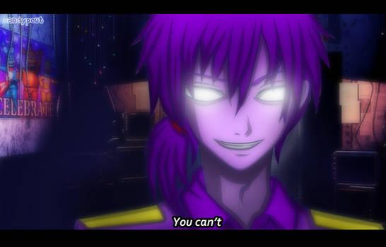 anime screenshot- Purple Guy