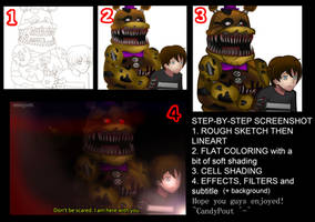 STEP-BY-STEP Anime Screenshot by CandyPout