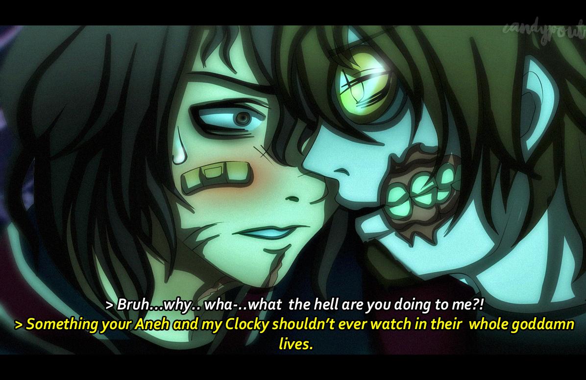 CRACK SHIP - HOAXTON X TICCI TOBY anime screenshot by