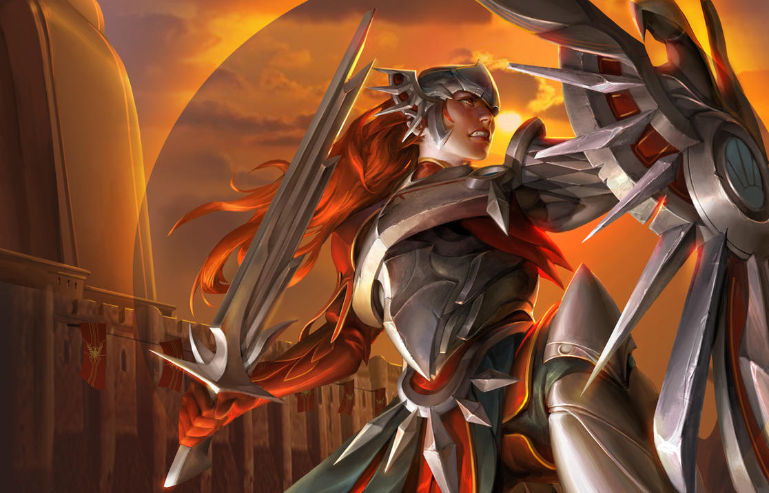 Full HD pics of Leona League of Legends