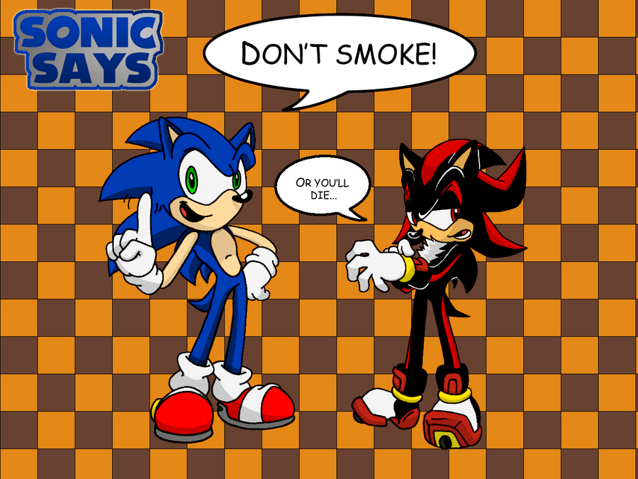 Sonic says... by Cornelious-Raidon on DeviantArt