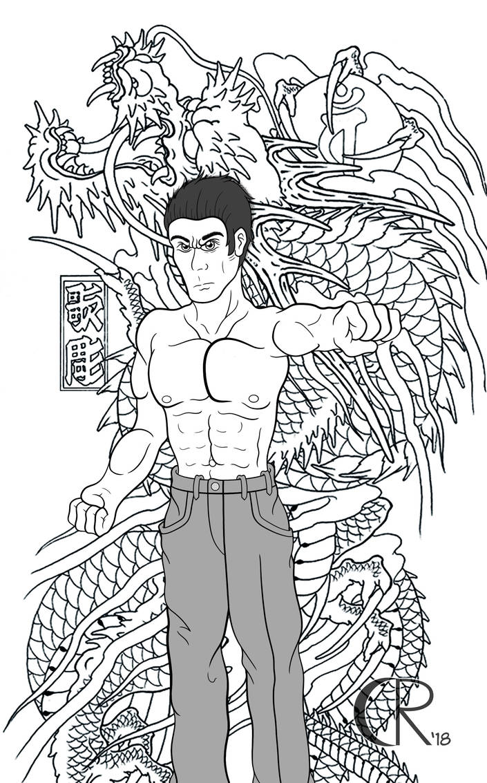 :Inks: Eyes Like a Dragon by Cornelious-Raidon