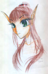 pretty girl 2 by NonPlayer